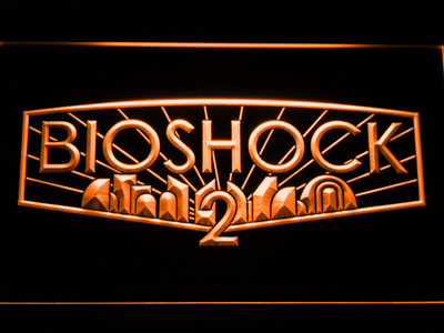 Bioshock 2 LED Neon Sign - Orange - SafeSpecial