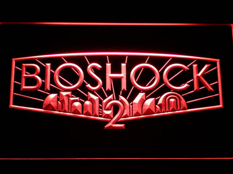 Image of Bioshock 2 LED Neon Sign - Red - SafeSpecial