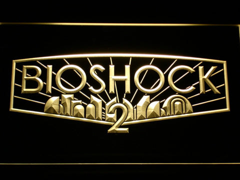 Image of Bioshock 2 LED Neon Sign - Yellow - SafeSpecial