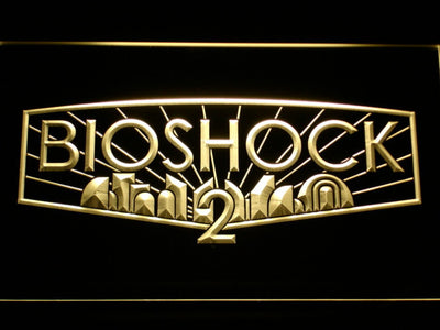Bioshock 2 LED Neon Sign - Yellow - SafeSpecial