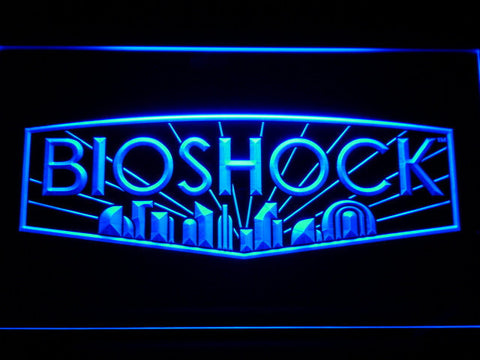 Bioshock LED Neon Sign - Blue - SafeSpecial