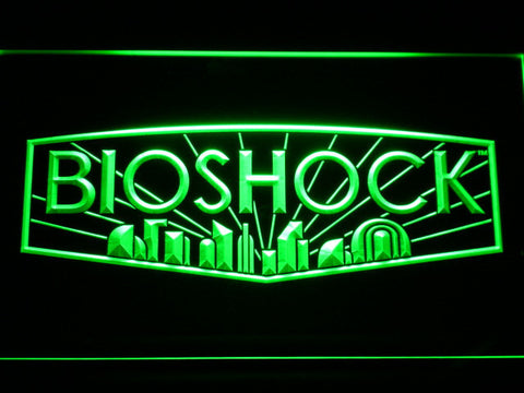Bioshock LED Neon Sign - Green - SafeSpecial