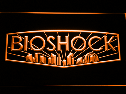 Bioshock LED Neon Sign - Orange - SafeSpecial