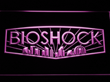 Bioshock LED Neon Sign - Purple - SafeSpecial