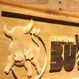 Birmingham Bulls Wooden Sign - Legacy Edition - - SafeSpecial