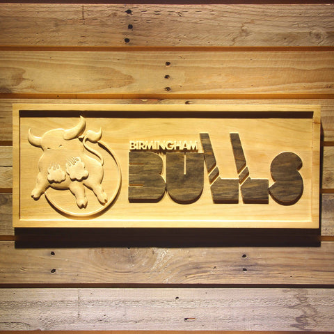 Birmingham Bulls Wooden Sign - Legacy Edition - Small - SafeSpecial