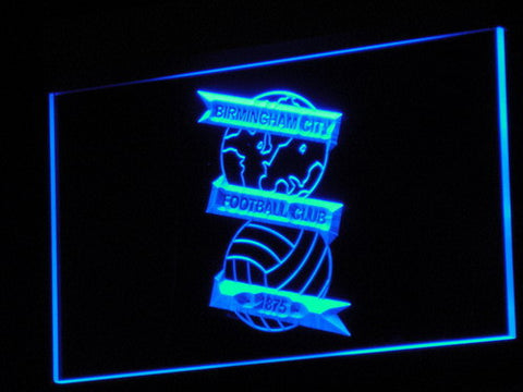 Birmingham City Football Club LED Neon Sign - Blue - SafeSpecial