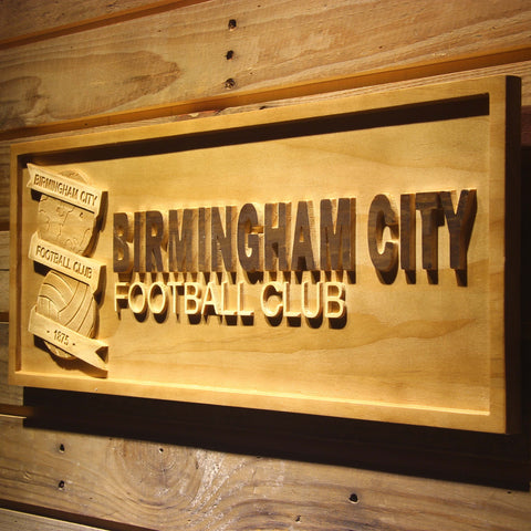 Birmingham City Football Club Wooden Sign - - SafeSpecial