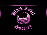 Black Label Society LED Neon Sign - Purple - SafeSpecial