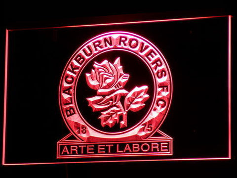Blackburn Rovers FC LED Neon Sign - Red - SafeSpecial