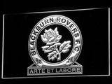 Blackburn Rovers FC LED Neon Sign - White - SafeSpecial