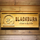 Blackburn Rovers FC Wooden Sign - Small - SafeSpecial