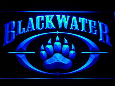 Image of Blackwater LED Neon Sign - Blue - SafeSpecial