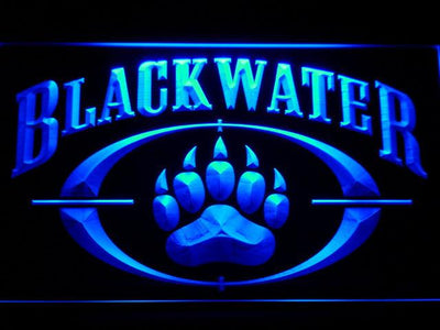 Blackwater LED Neon Sign - Blue - SafeSpecial