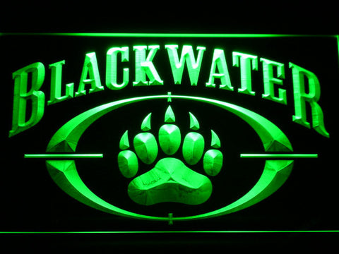 Image of Blackwater LED Neon Sign - Green - SafeSpecial