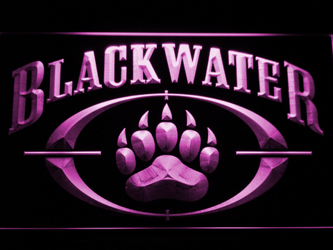 Image of Blackwater LED Neon Sign - Purple - SafeSpecial
