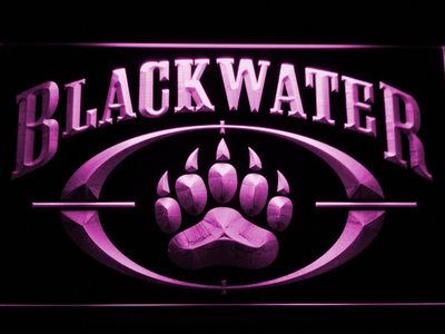 Blackwater LED Neon Sign - Purple - SafeSpecial