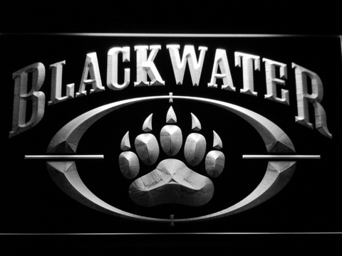 Image of Blackwater LED Neon Sign - White - SafeSpecial