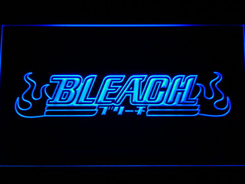 Bleach LED Neon Sign - Blue - SafeSpecial