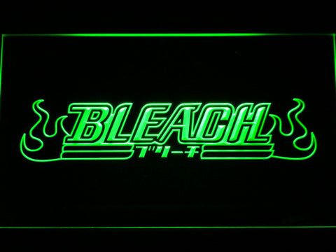 Image of Bleach LED Neon Sign - Green - SafeSpecial