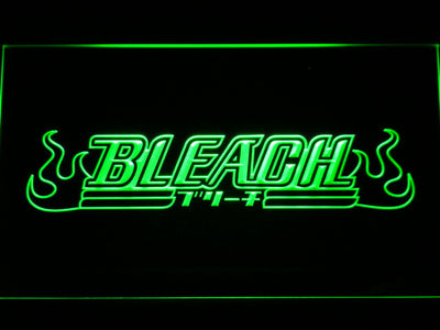 Bleach LED Neon Sign - Green - SafeSpecial