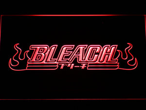 Bleach LED Neon Sign - Red - SafeSpecial