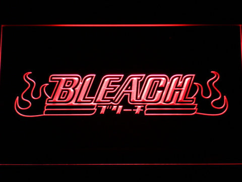 Image of Bleach LED Neon Sign - Red - SafeSpecial