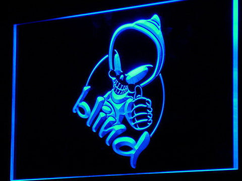 Blind LED Neon Sign - Legacy Edition - Blue - SafeSpecial