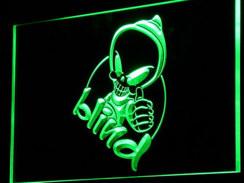 Blind LED Neon Sign - Legacy Edition - Green - SafeSpecial