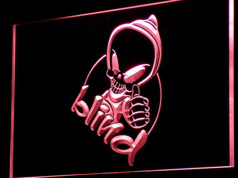 Blind LED Neon Sign - Legacy Edition - Red - SafeSpecial