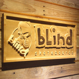 Blind Wooden Sign - Legacy Edition - - SafeSpecial