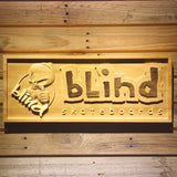 Blind Wooden Sign - Legacy Edition - Small - SafeSpecial