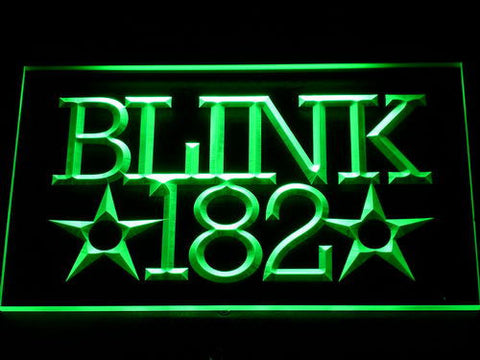Blink 182 LED Neon Sign - Green - SafeSpecial