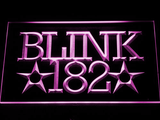 Blink 182 LED Neon Sign - Purple - SafeSpecial