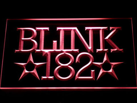 Blink 182 LED Neon Sign - Red - SafeSpecial