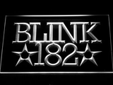 Blink 182 LED Neon Sign - White - SafeSpecial