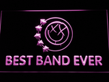 Blink 182 Smiley Best Band Ever LED Neon Sign - Purple - SafeSpecial