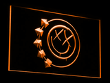 Blink 182 Smiley LED Neon Sign - Orange - SafeSpecial