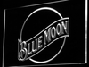 Blue Moon LED Neon Sign - White - SafeSpecial