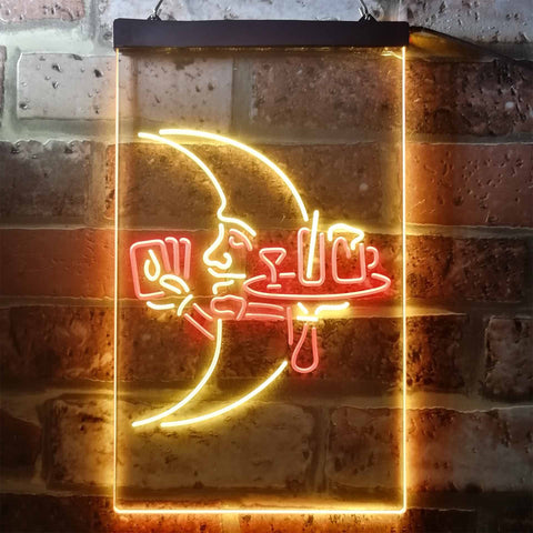 Image of Blue Moon Moontender Neon-Like LED Sign - Dual Color