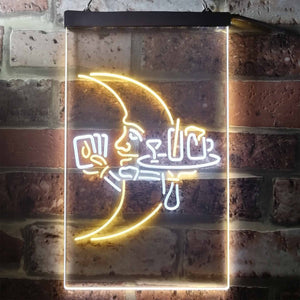 Blue Moon Moontender Neon-Like LED Sign - Dual Color
