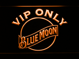 Blue Moon VIP Only LED Neon Sign - Orange - SafeSpecial