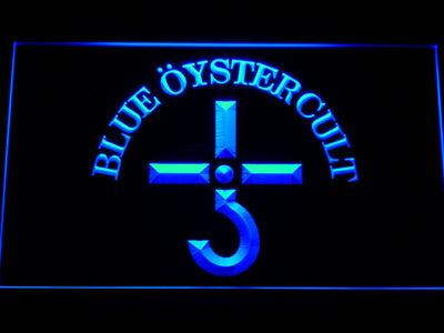 Blue Oyster Cult LED Neon Sign - Blue - SafeSpecial