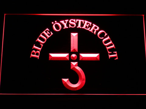 Blue Oyster Cult LED Neon Sign - Red - SafeSpecial