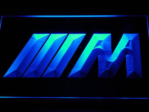 BMW M Series LED Neon Sign - Blue - SafeSpecial