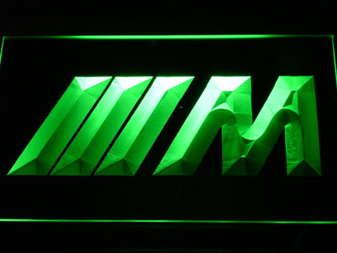 BMW M Series LED Neon Sign - Green - SafeSpecial