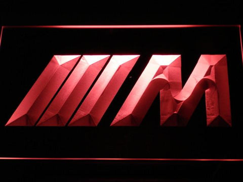 BMW M Series LED Neon Sign - Red - SafeSpecial