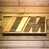 BMW M Series Wooden Sign - Small - SafeSpecial