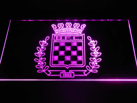 Boavista F.C. LED Neon Sign - Purple - SafeSpecial