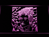 Bob Dylan LED Neon Sign - Purple - SafeSpecial
